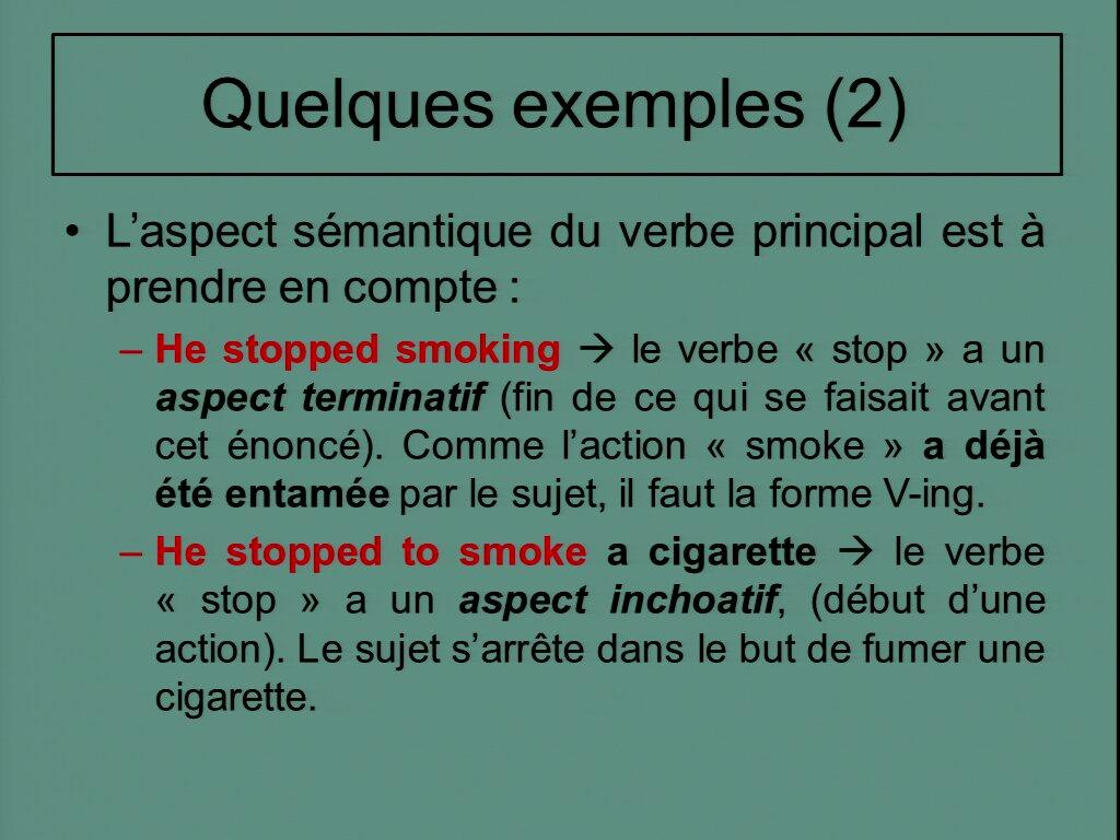 Niveau 3 Structures Verbe Verbe Portail Video De L Universite De Rouen Normandie