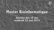 15 ans du Master Bio-informatique, version courte