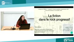 Marion Brachet, EHESS (Paris), « La fiction dans le rock progressif »