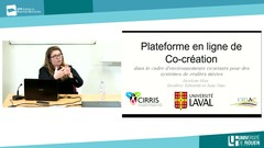 Tales from the Humanitat, plateforme en ligne de co-création, par Jocelyn Kiss (Université Laval)